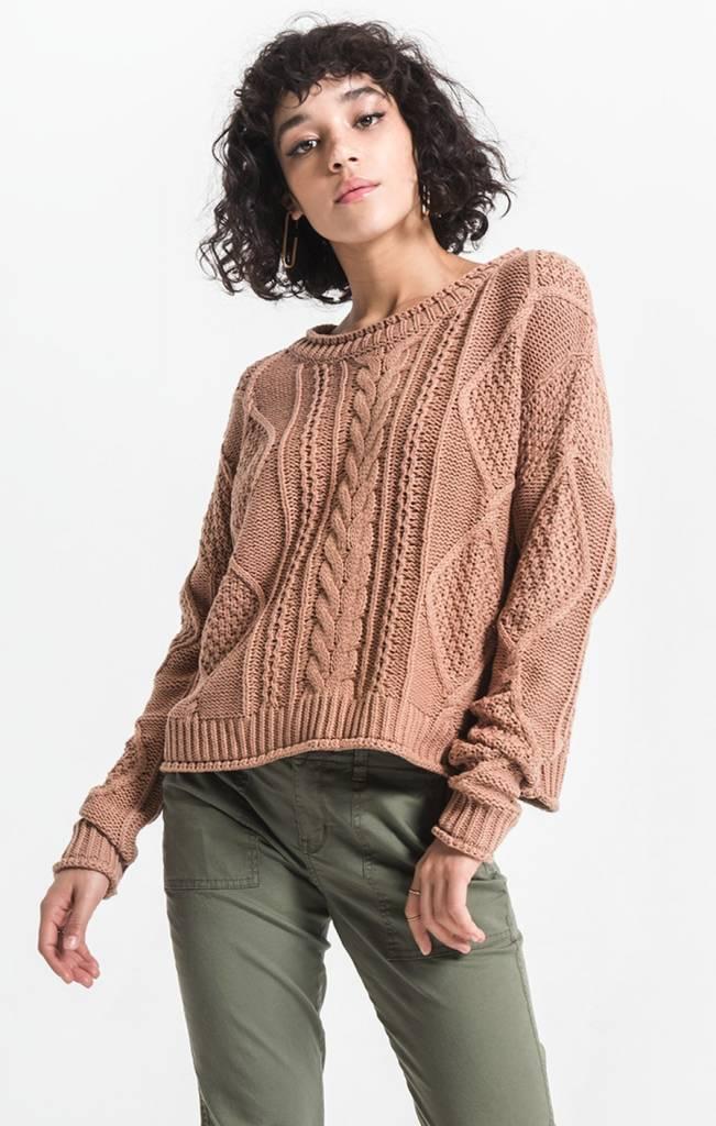 Rag Poets Terra Knit Sweater