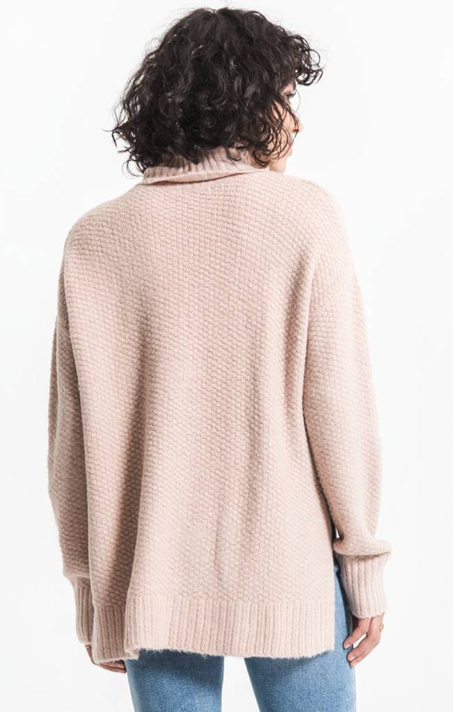 Rag Poets Andromeda Knit Turtleneck Sweater