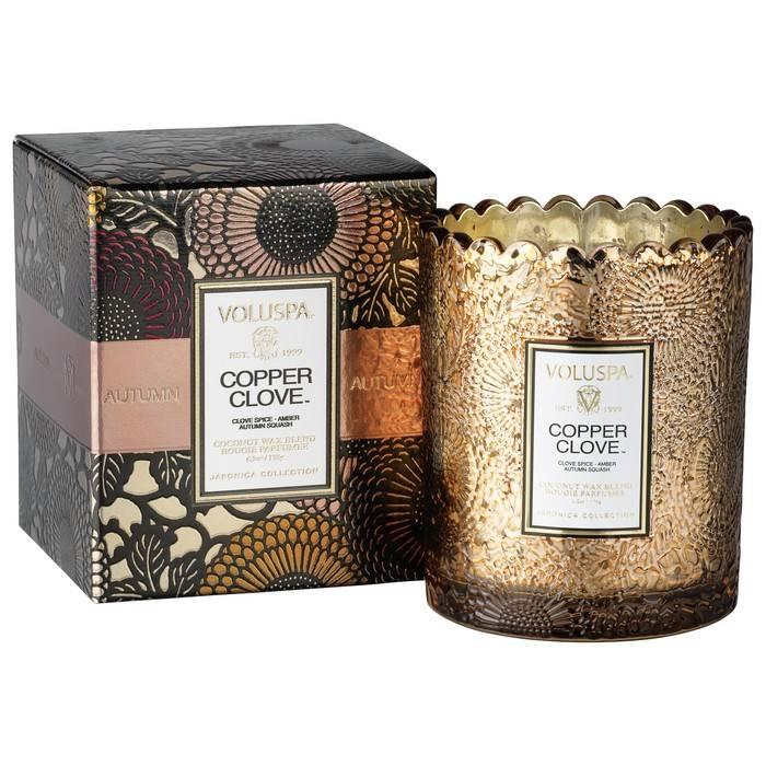 Voluspa Boxed Scalloped Candlepot
