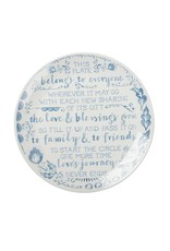 Primitives by Kathy BLESSING PLATE