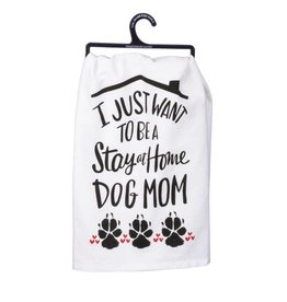 Primitives by Kathy DOG MOM TOWEL