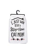 Primitives by Kathy CAT MOM TOWEL
