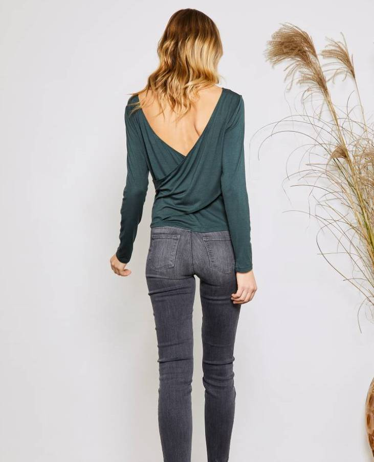 Gentle Fawn Castella Cross Back Top
