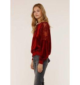 Heartloom Bella Velvet Sweatshirt
