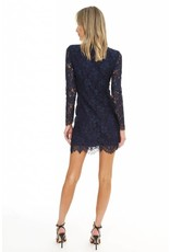 BOBI Lace Fitted Dress