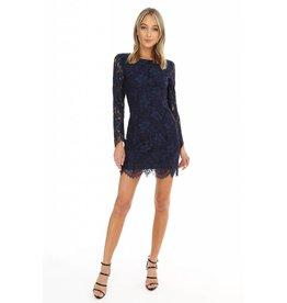 BOBI Lace Fitted Dress