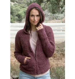 Barefoot Dreams CozyChic Relaxed Zip-Up Hoodie