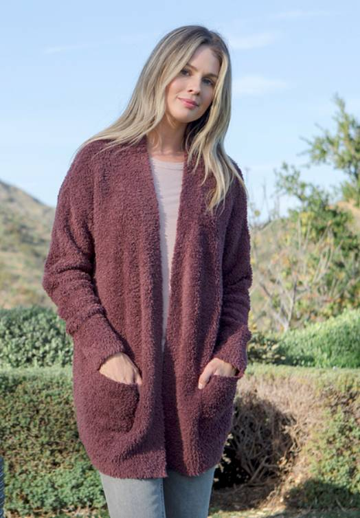 Barefoot Dreams Cozychic So-Cal Cardi