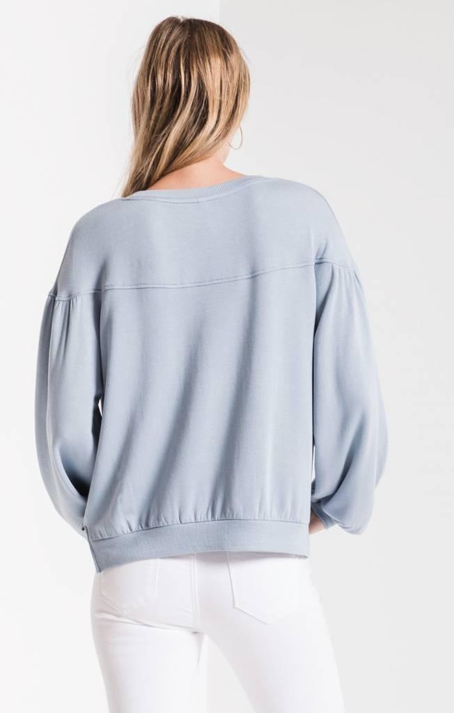 Z Supply The Elizabeth Fleece Pullover