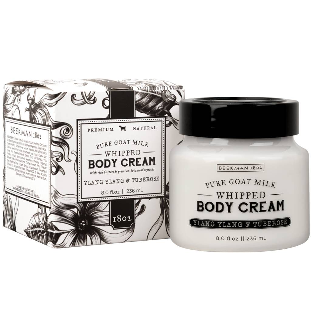 Beekman 1802 8 oz GOAT MILK BODY CREAM
