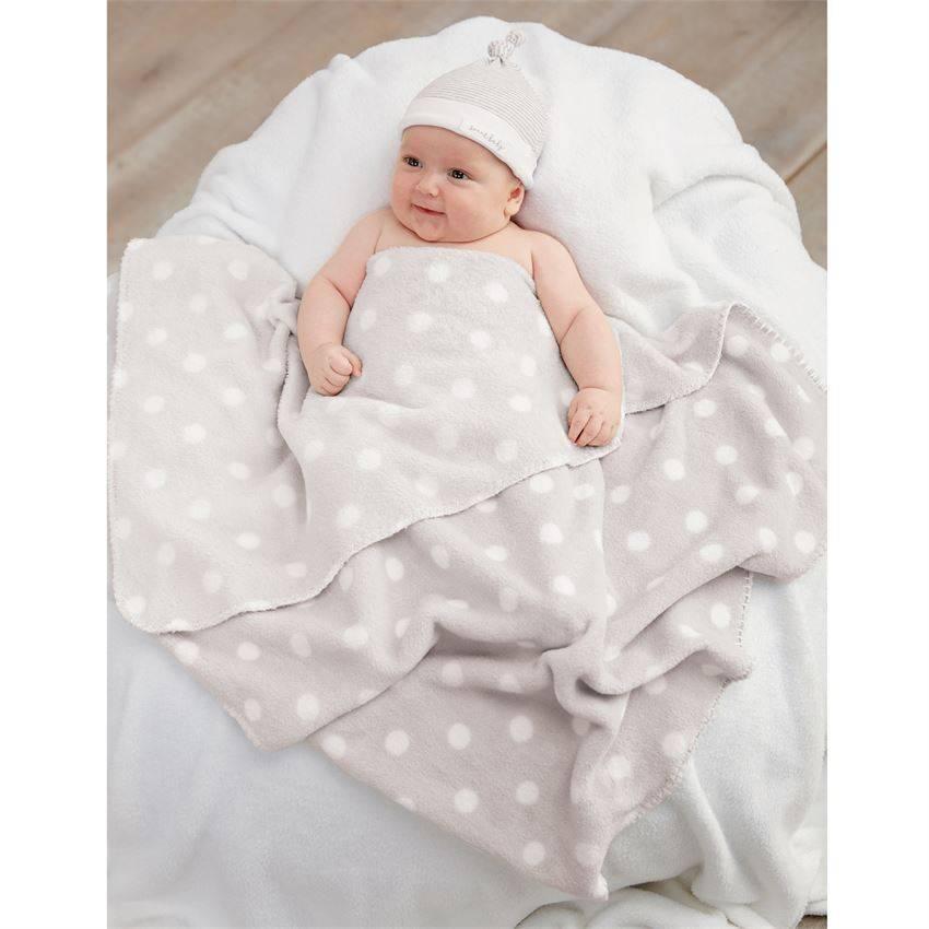Mud Pie Sweet Baby Hat & Blanket Set