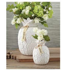 Mud Pie Pineapple Vase