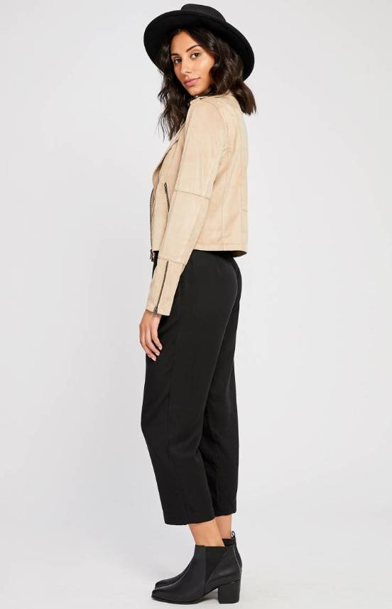 Gentle Fawn Adera Faux Suede Jacket