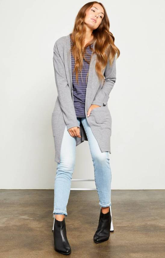 Gentle Fawn Tara Brushed Triblend Cardigan