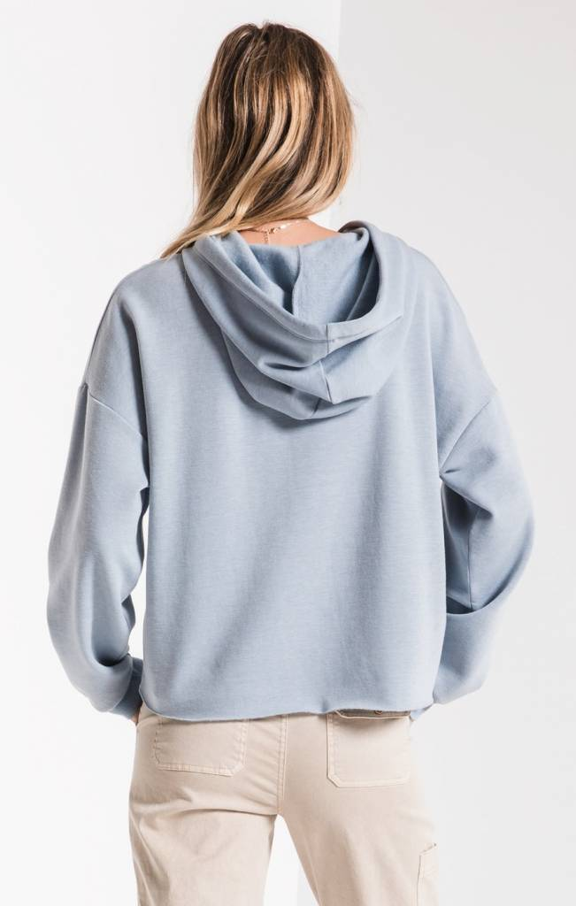 Z Supply Feathered Fleece Hoodie