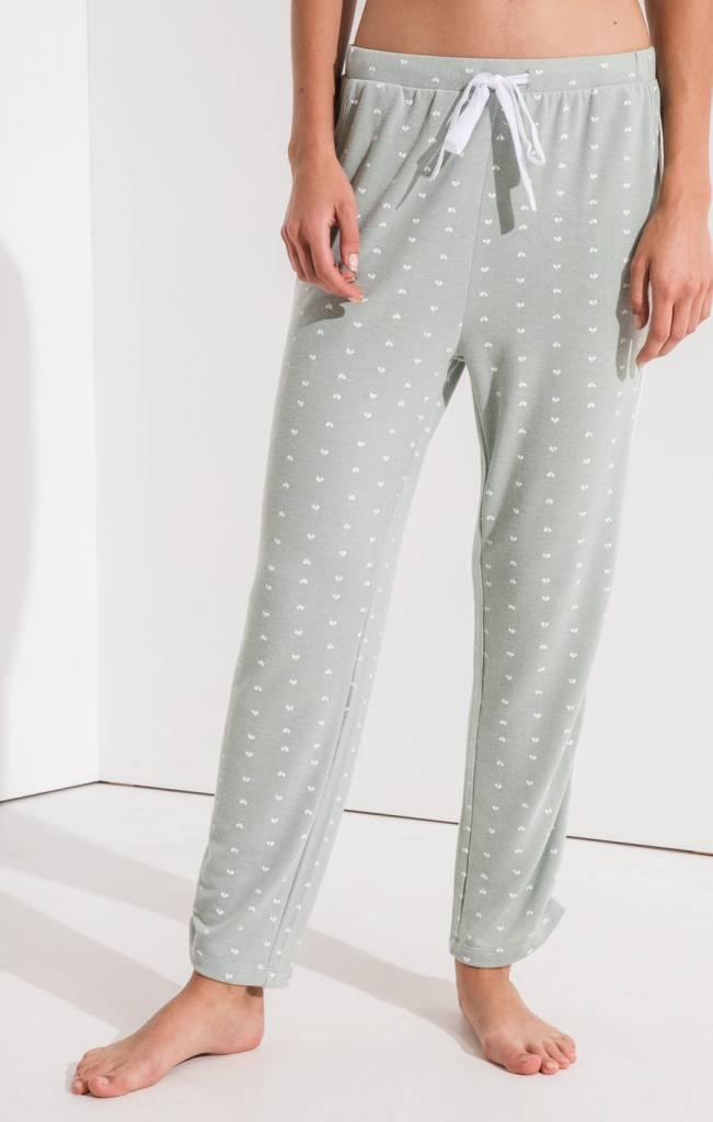 Z Supply Hearts Pajama Pant