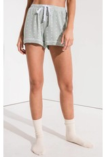 Z Supply Hearts Pajama Short