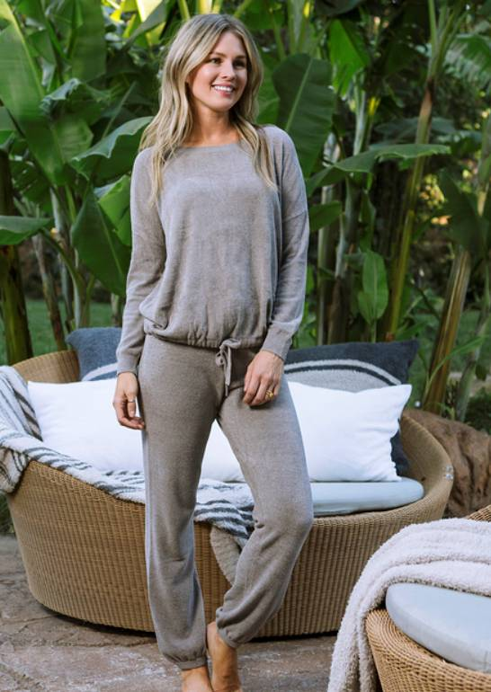Barefoot Dreams Cozychic Ultra Lite Track Pant