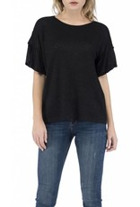B Collection by Bobeau Ella Flutter Sleeve Tee