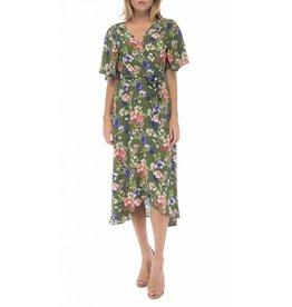 B Collection by Bobeau Orna Wrap Dress