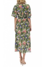 B Collection by Bobeau Orna Wrap Dress