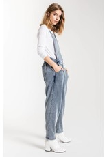 Z Supply The Knit Denim Overalls