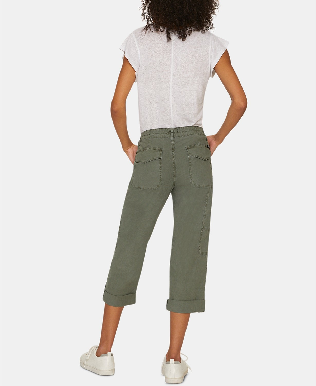 Sanctuary Clothing Explorer Patch Pocket Crop Pant