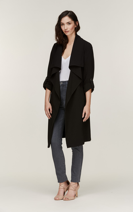 Soia & Kyo Ornella Draped Trench