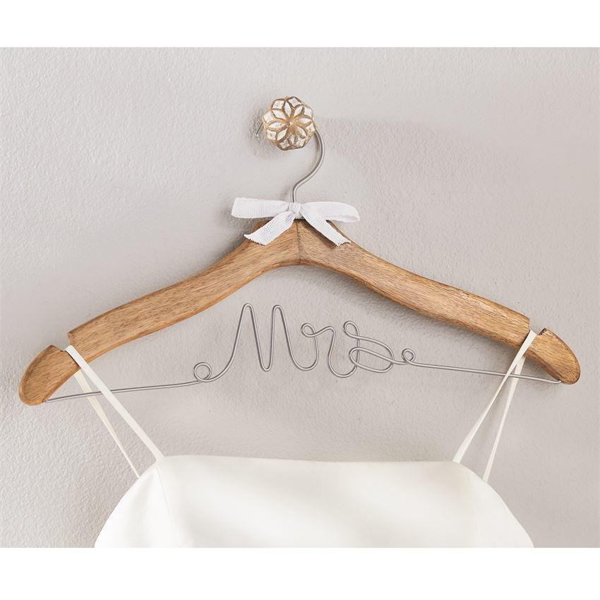 Mud Pie Mrs Wedding Dress Hanger