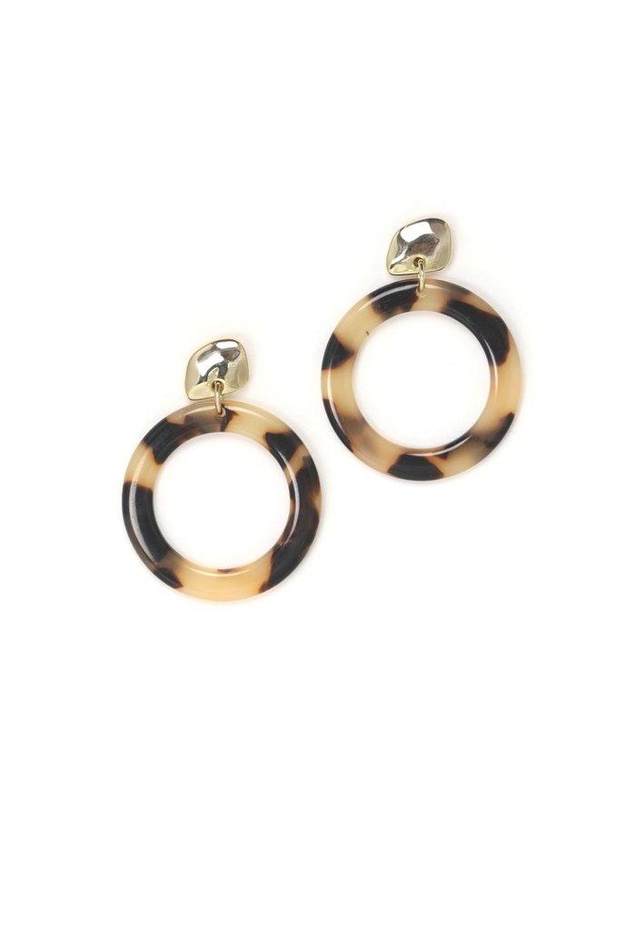 Lover's Tempo Odessa Hoop Earrings