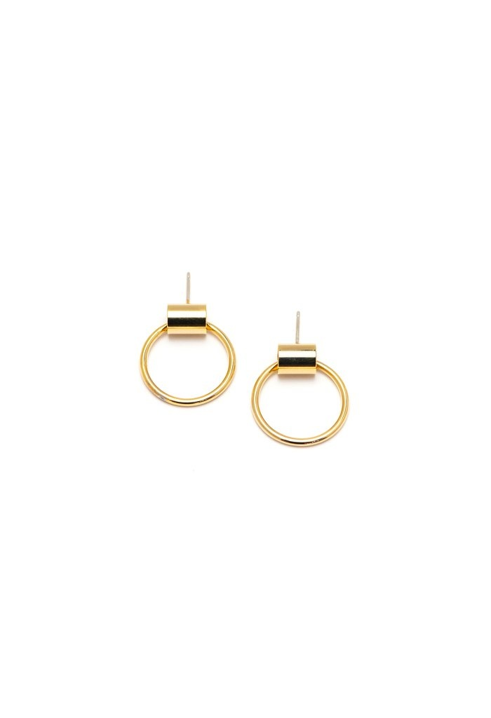 Lover's Tempo Small Swing Hoops