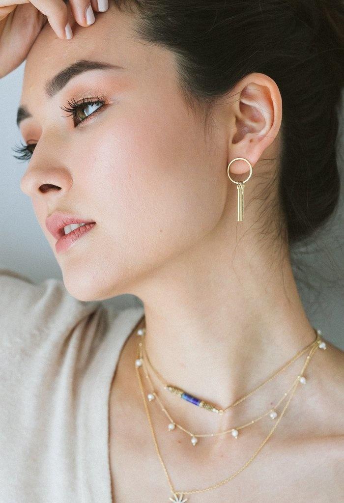 Lover's Tempo Ray of Light Earrings