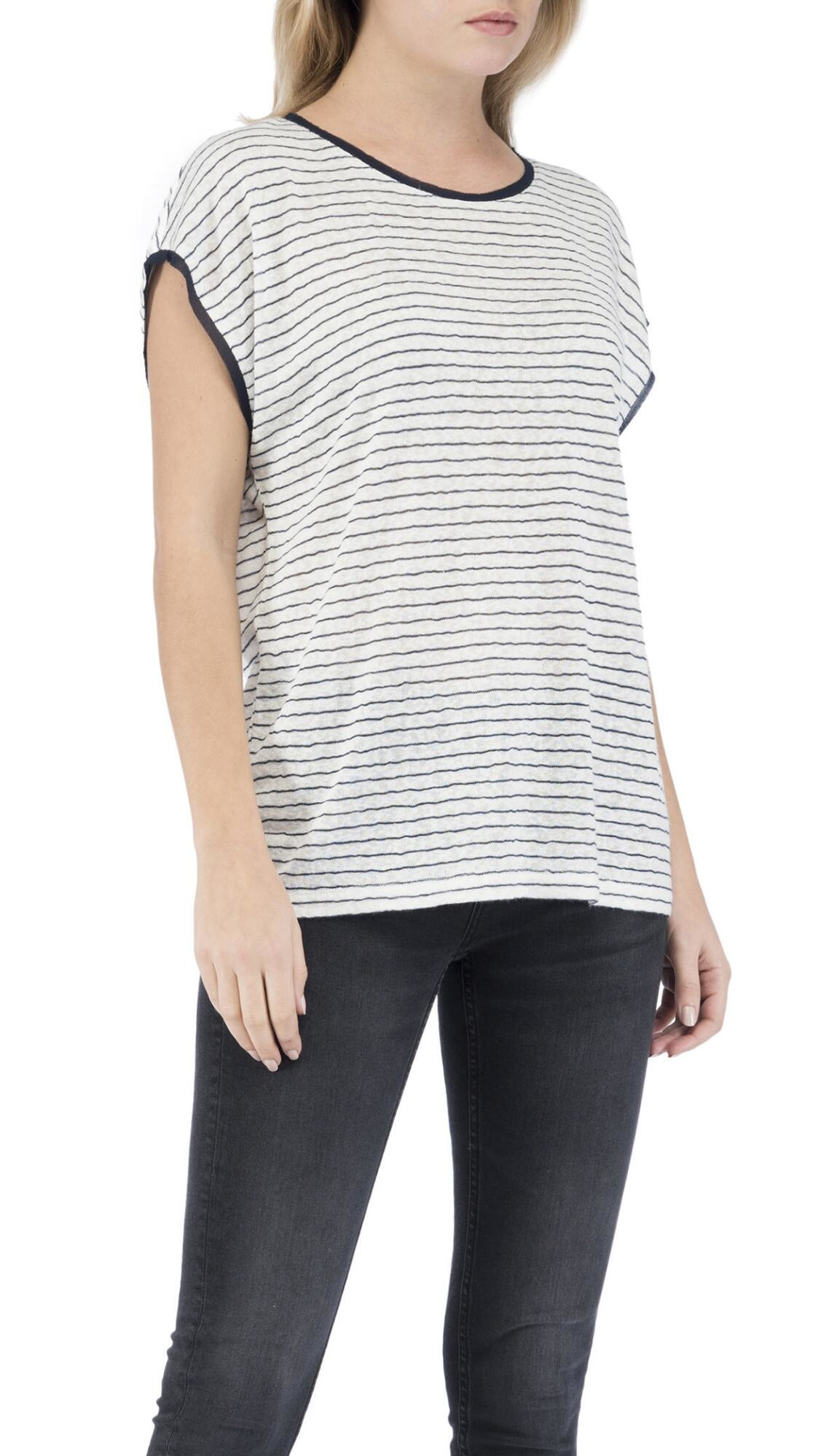B Collection by Bobeau Therese Scoop Neck Top