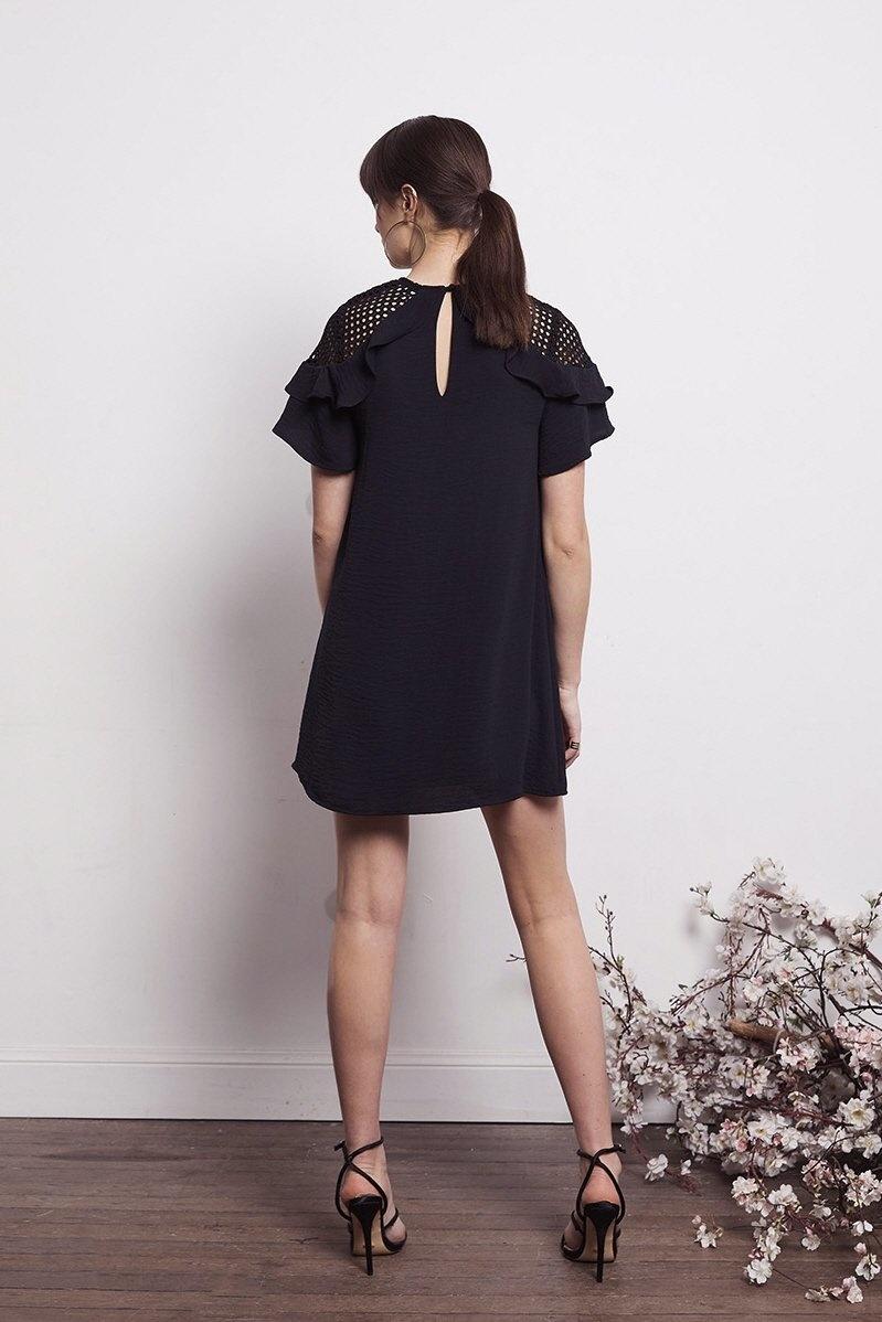 Shilla the Label Social Frill Mix Dress