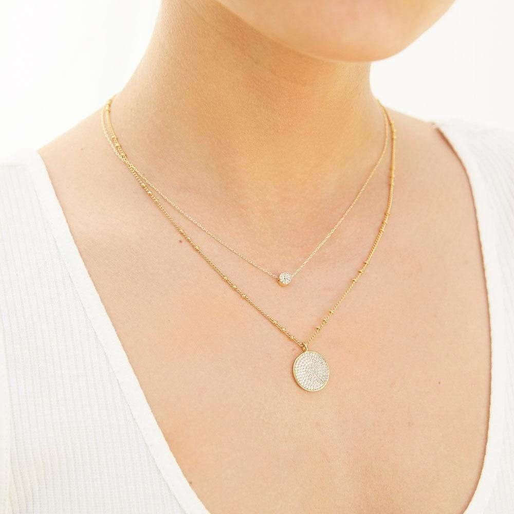 Gorjana Pristine Coin Necklace