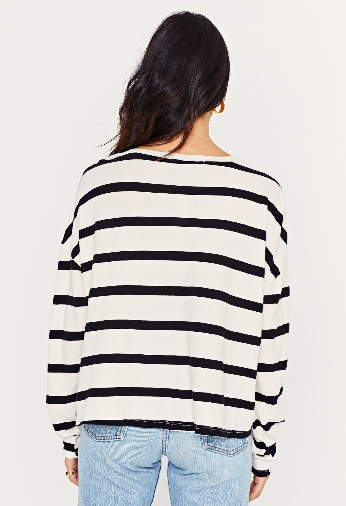 Project Social T Oaklee Striped Long Sleeve