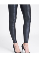 Spanx Faux Leather Hip Zip Leggings