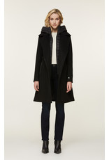 Soia & Kyo Perle Mixed Media Coat