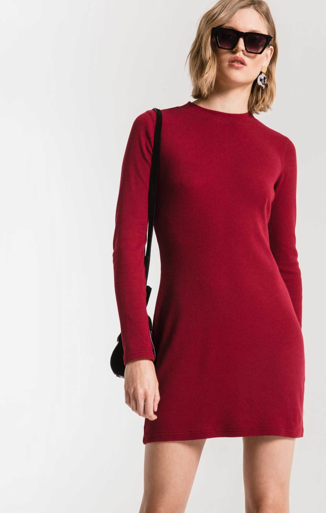 Z Supply Thermal L/S Dress