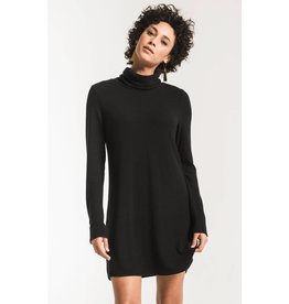 Z Supply Sweater Knit Turtleneck Dress