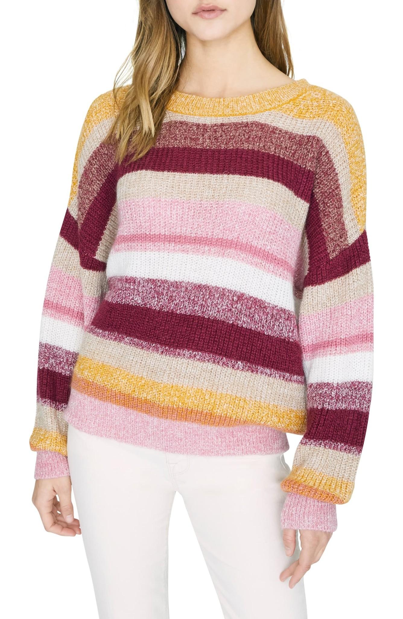Sanctuary Clothing Blur the Lines Stripe Sweater