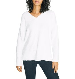 Sanctuary Clothing V Neck Teddy Sweater