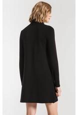 Z Supply The Premium Fleece Turtleneck Dress