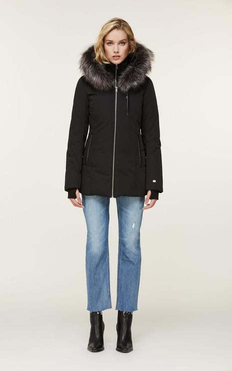 Soia & Kyo Charlette ThermoLite Coat w/Faux Fur