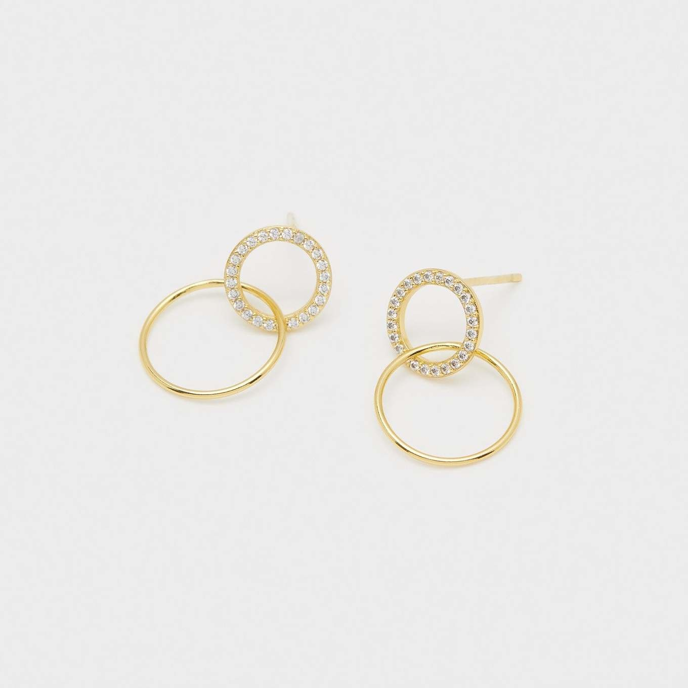 Gorjana Balboa Interlocking Studs