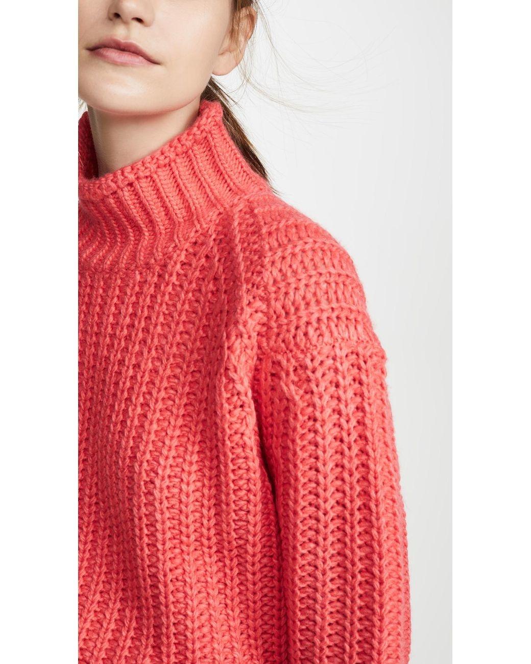 MinkPink Stevie High Neck Knit