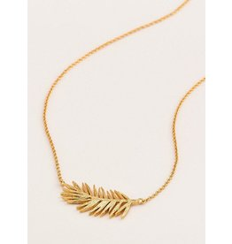Gorjana PALM ADJUSTABLE NECKLACE