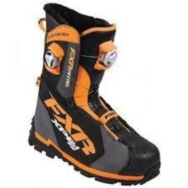 FXR Factory Racing Elevation Lite BOA Focus Boot Charcoal/Orange 12\46