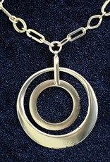 Jewelry Karin Sultan: Two Circles in Gold
