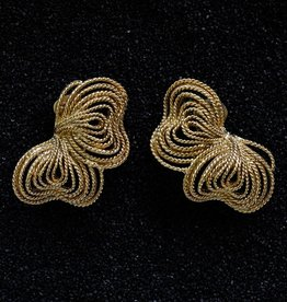 Jewelry KJLane: Gold Wire Bow